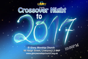 Glory worship church event page